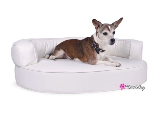 Hondenmand Magic Dream Wit PU-Leder-0