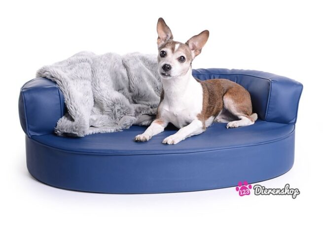 Hondenmand Magic Dream Blauw PU-Leder-0