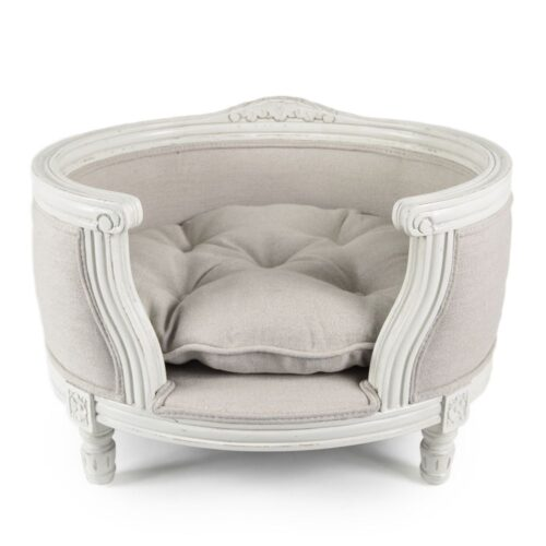 Hondenmand Lord Lou George Linen Ecru Medium-0