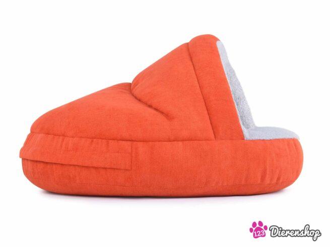 Hondenmand Snuggle Cave Oranje-17114