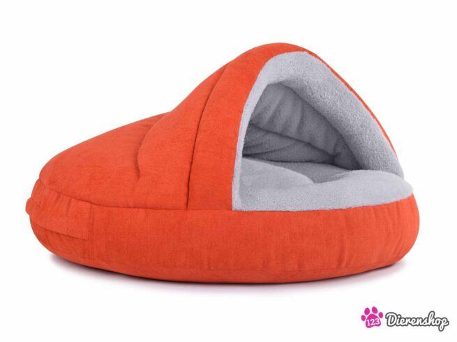 Hondenmand Snuggle Cave Oranje-17113