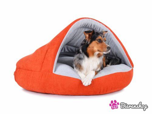 Hondenmand Snuggle Cave Oranje-0
