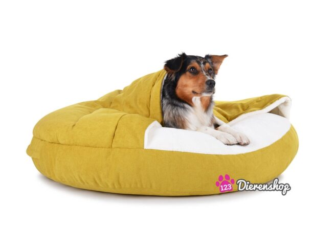 Hondenmand Snuggle Cave Deluxe Kiwi-18885