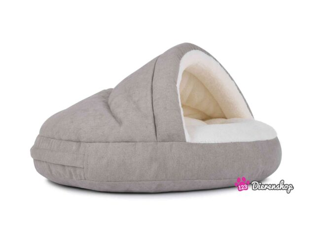 Hondenmand Snuggle Cave Deluxe Taupe-18046