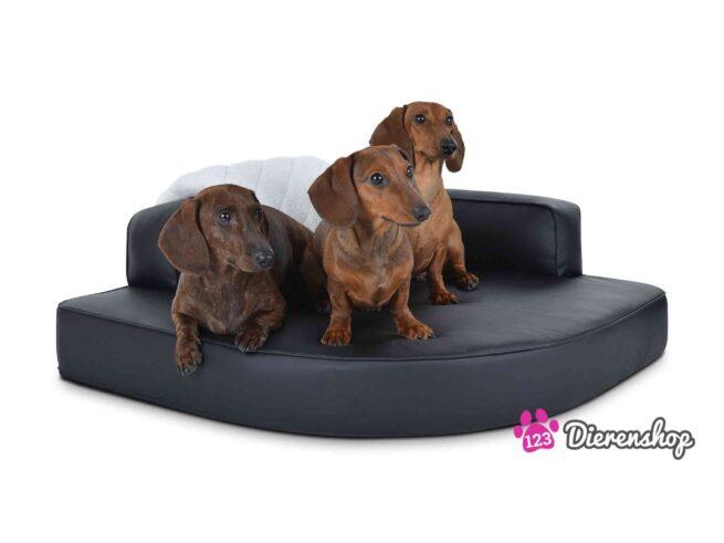Hondenmand Hoekmodel Zwart-0