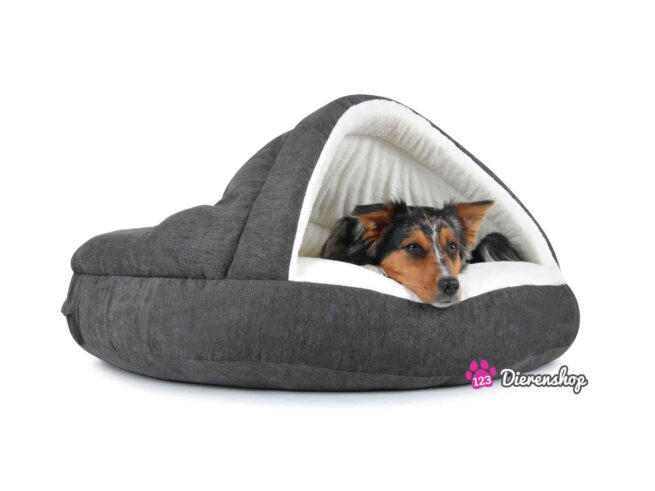 Hondenmand Snuggle Cave Deluxe Grijs-18054
