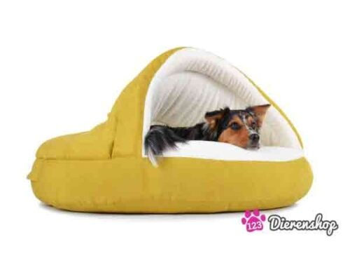 Hondenmand Snuggle Cave Deluxe Kiwi-0