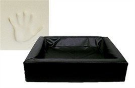 Hondenmand Bia Bed 2 Orthopedisch Zwart 60 cm-0