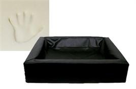 Hondenmand Bia Bed Orthopedisch Zwart 3 70 cm-0
