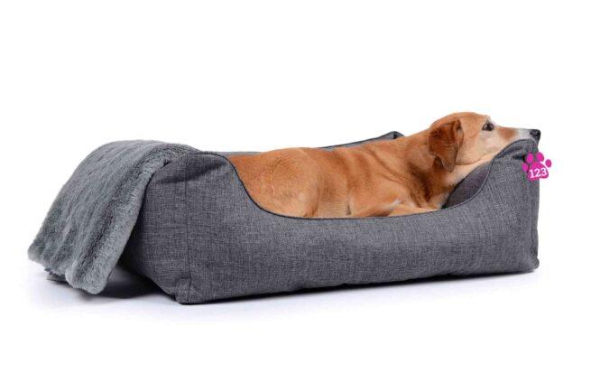 Hondenmand Soft Dream Deluxe Grijs-17332