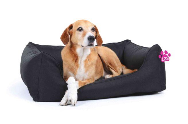 Hondenmand Soft Dream Deluxe Zwart-17330