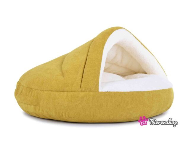 Hondenmand Snuggle Cave Deluxe Kiwi-18045
