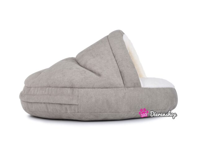 Hondenmand Snuggle Cave Deluxe Taupe-18888