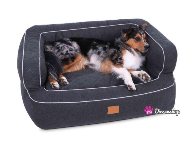 Hondenmand Lounge Deluxe Antraciet-17883