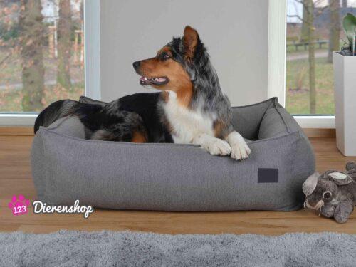Hondenmand Luxery Plus Grijs-0