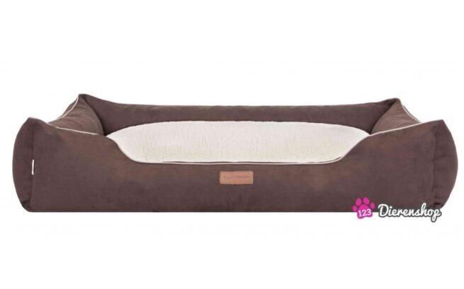 Hondenmand Indira Suedine Deluxe Bruin 85 cm-0