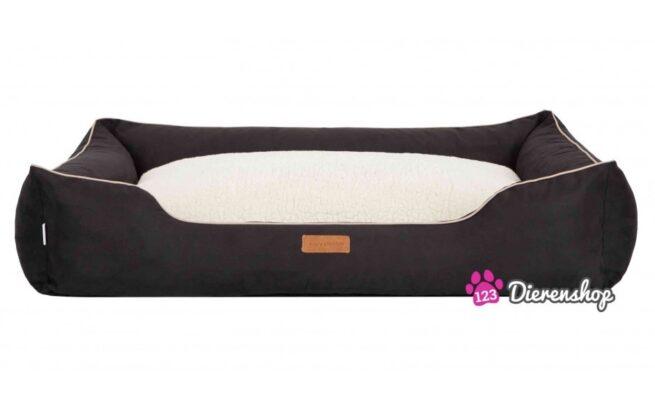 Hondenmand Indira Suedine Deluxe Zwart 85 cm-0