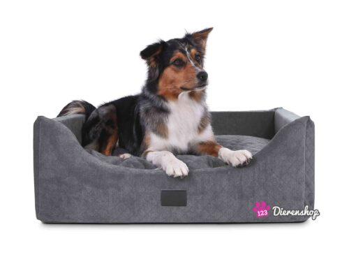 Hondenmand Rectangulem Trend Deluxe Antraciet-0