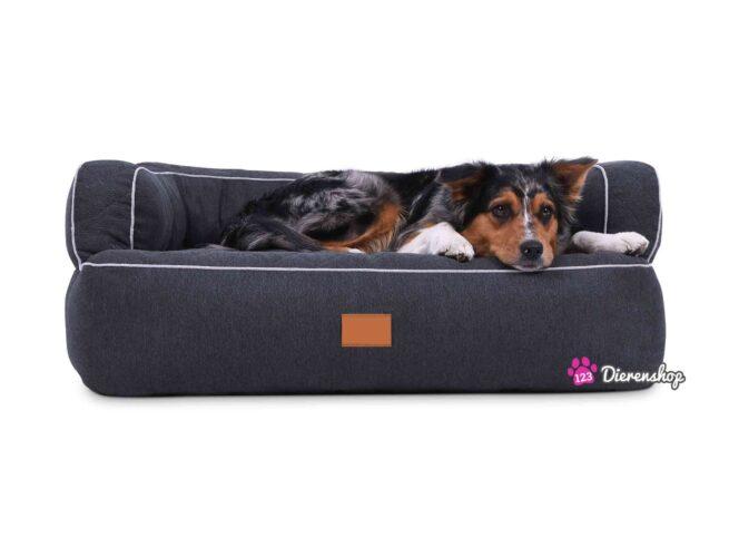 Hondenmand Lounge Deluxe Antraciet-0