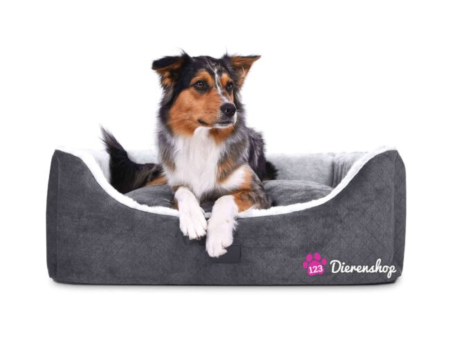Hondenmand Eskimo Deluxe Zilver Antraciet Antraciet Zilver-0