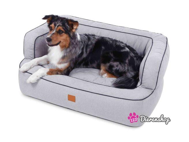 Hondenmand Lounge Deluxe Zilver-17880