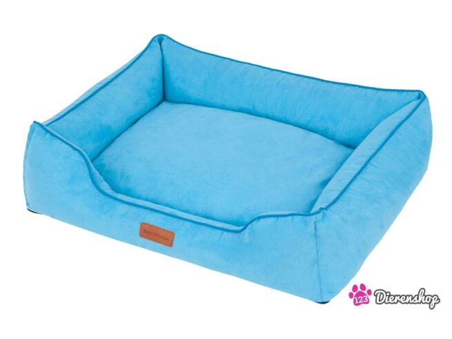 Hondenmand Indira Suedine Blauw 115 cm-0