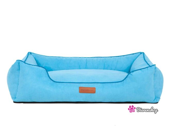 Hondenmand Indira Suedine Blauw 65 cm-0
