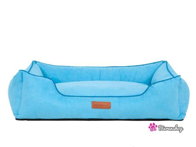 Hondenmand Indira Suedine Blauw 85 cm-0