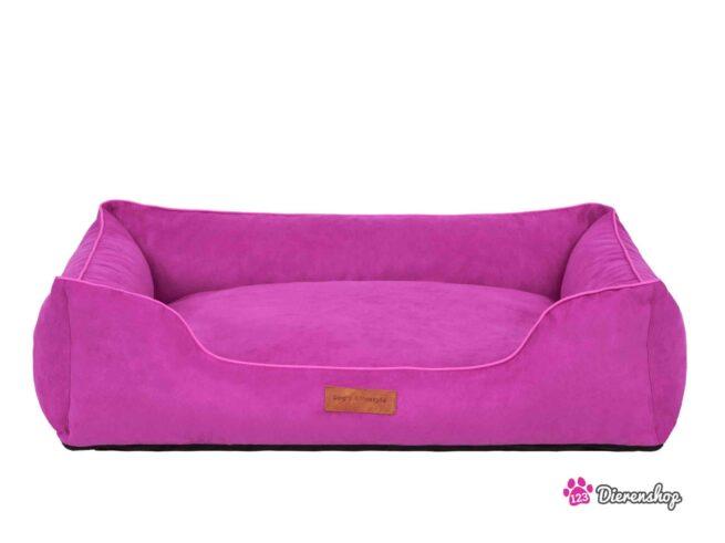 Hondenmand Indira Suedine Roze 85 cm-0
