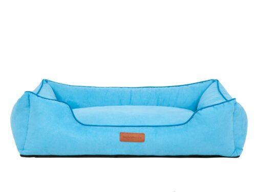 Hondenmand Indira Suedine Blauw-0