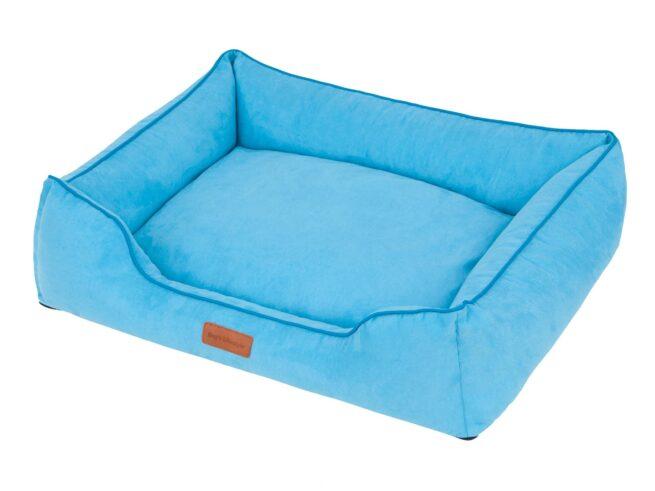 Hondenmand Indira Suedine Blauw-17980