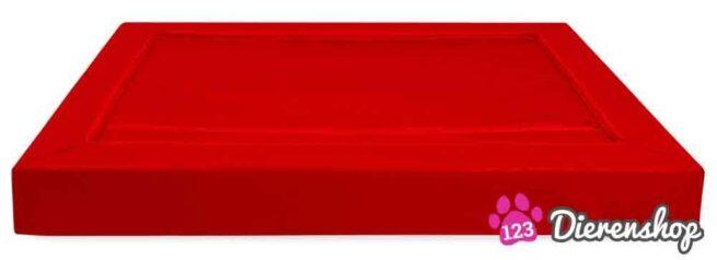 Hondenmand Premium Kunstleer Rood-18124