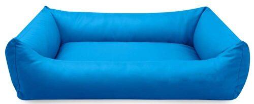 Hondenmand Blauw Kunstleer-0