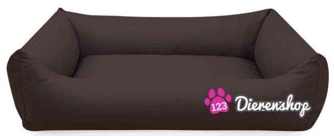Hondenmand Mokka Kunstleer 80 cm-0