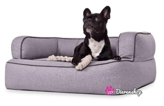 Hondenmand Lounge Deluxe Grijs-0