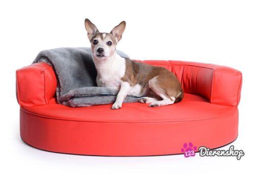 Hondenmand Magic Dream Rood PU-Leder-0