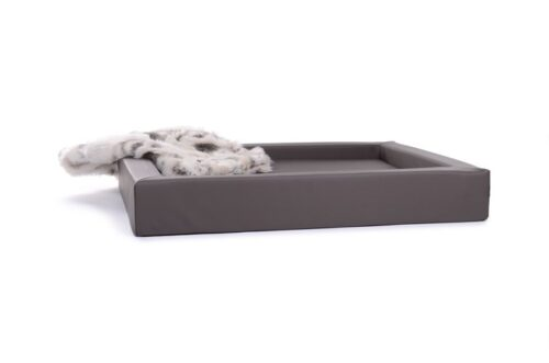 Hondenmand Ligbed Deluxe Taupe-0