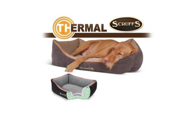 Hondenmand Scruffs Thermal Box bed Zwart-19056