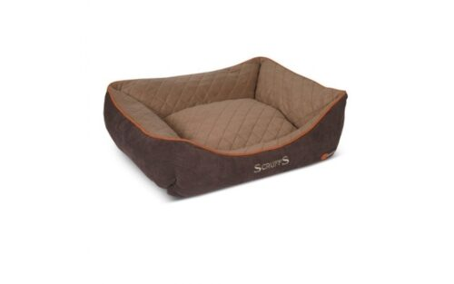 Hondenmand Scruffs Thermal Box Bed Bruin 50 cm-0