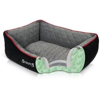 Hondenmand Scruffs Thermal Box bed Zwart 50 cm-0