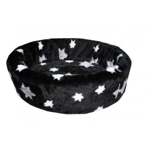 Hondenmand Bontmand Ster Zwart-0