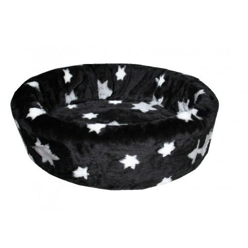 Hondenmand Bontmand Ster Zwart 70 cm-0