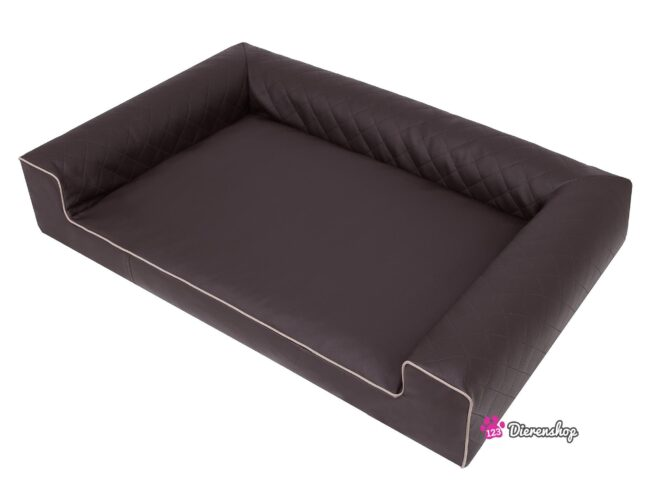 Hondenmand Lounge Bed Indira Bruin 100 cm-19587