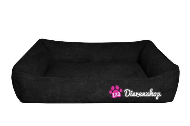 Hondenmand Supersoft Zwart 100 cm-0