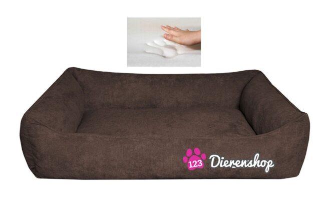 Orthopedische hondenmand Supersoft Donkerbruin 130 cm-0