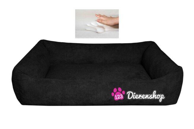 Orthopedische hondenmand Supersoft Zwart 100 cm-0