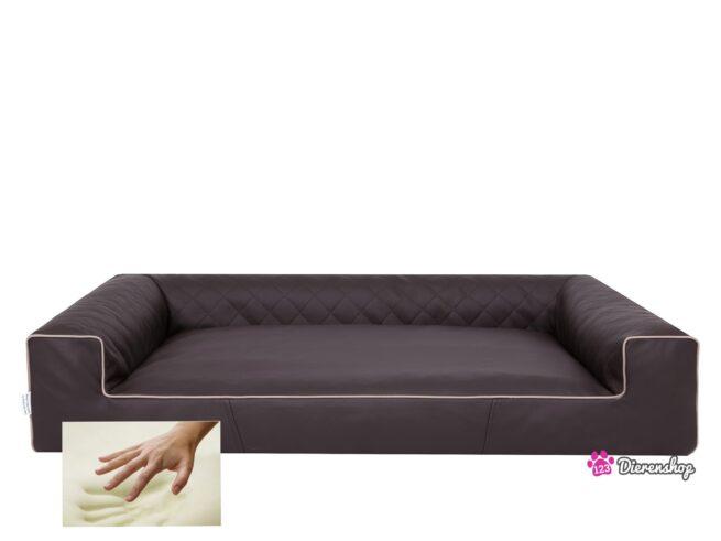 Orthopedische hondenmand Lounge Bed Indira Bruin 100 cm-0