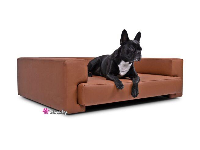 Hondenbank Deluxe Roestbruin 90cm-0
