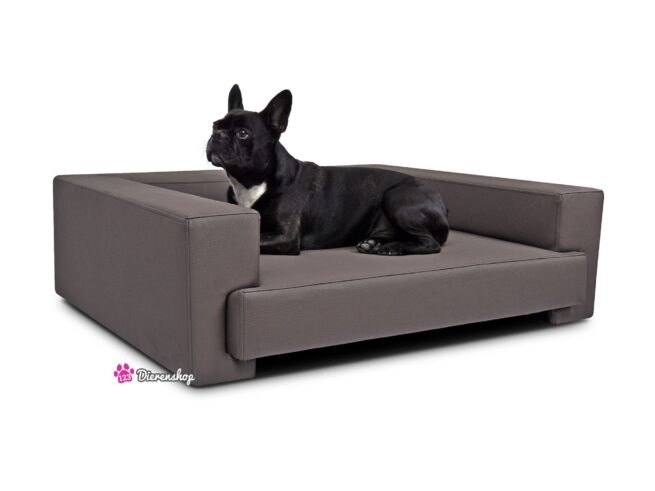 Hondenbank Deluxe Taupe 120 cm-0