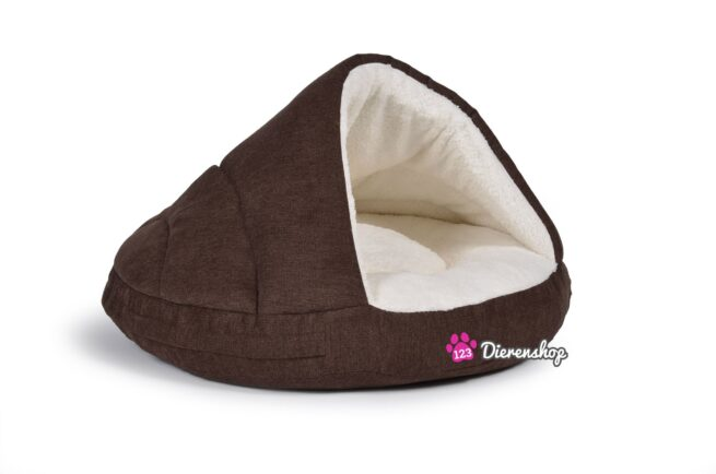 Hondenmand Snuggle Cave Bruin 75 cm-0